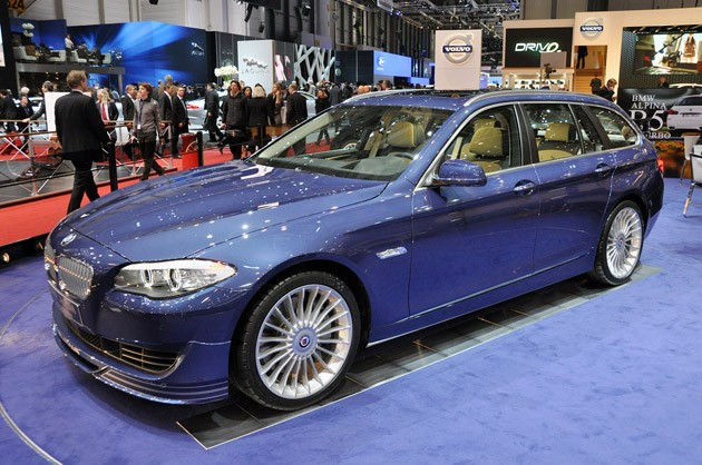 Geneva Motor Show Witnessed the First Debut of BMW Alpina B5 Biturbo Touring