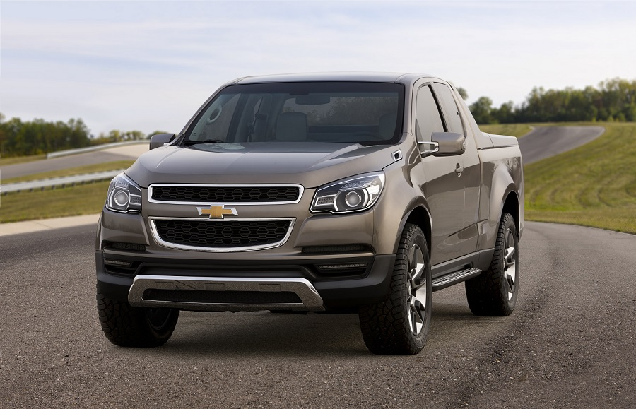 2011 Chevrolet Colorado Concept Unveiled